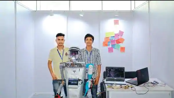 Students in India are making robots that will serve society