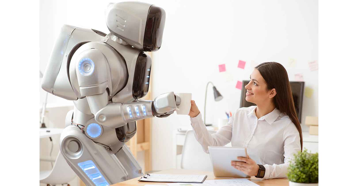 THE FUTURE WITH ROBOTS